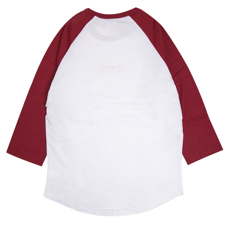 Signature Major Raglan | White/Maroon