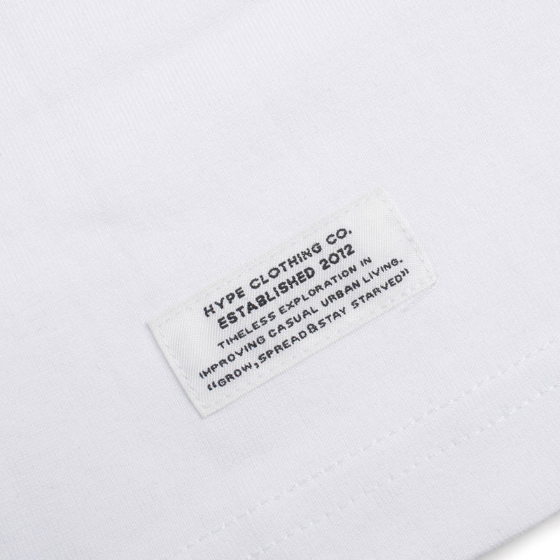 Signature Major Short Sleeve Tee | White