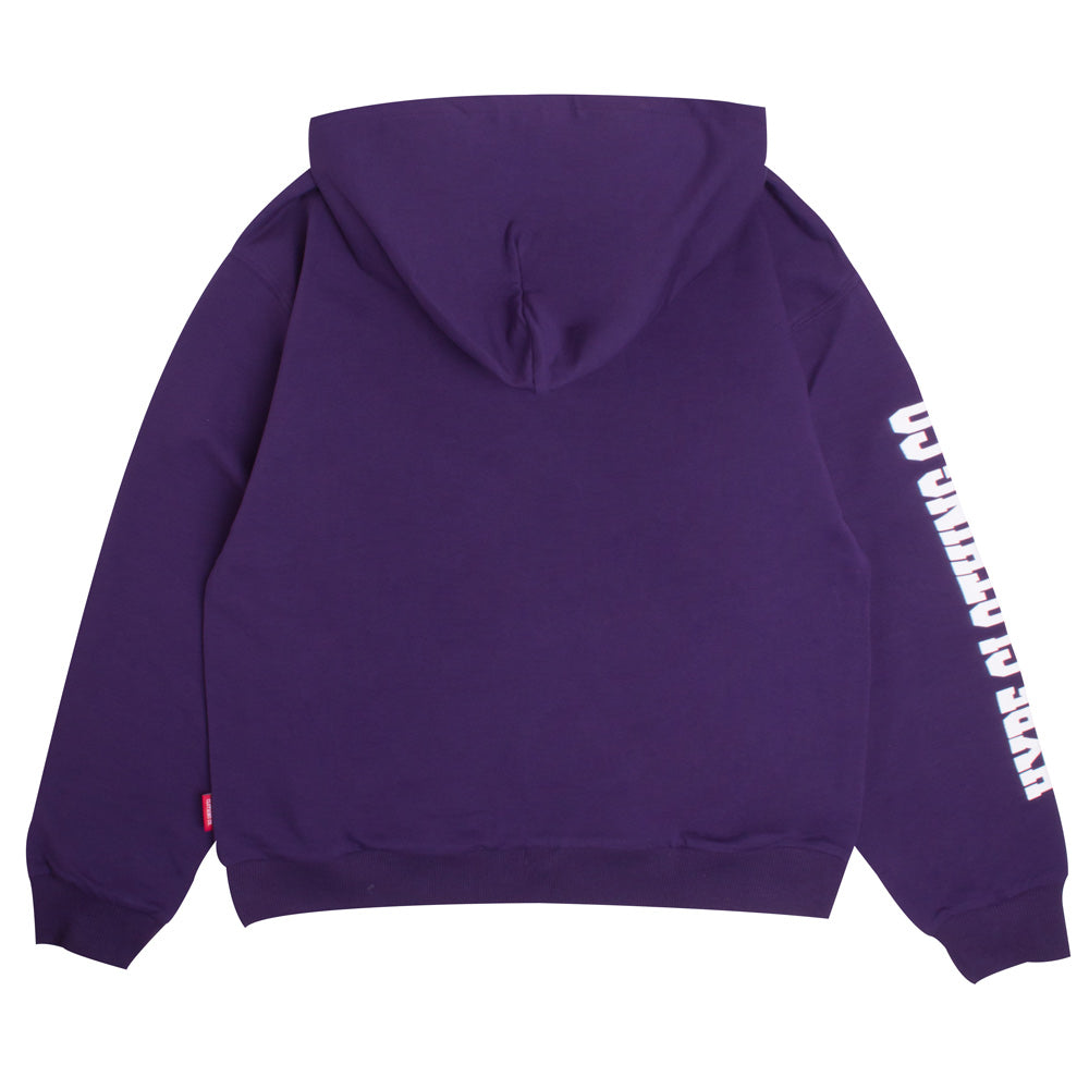Signature Women Captain Pullover Hoodie | Purple