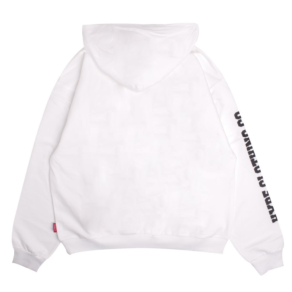 Signature Women Captain Pullover Hoodie | White