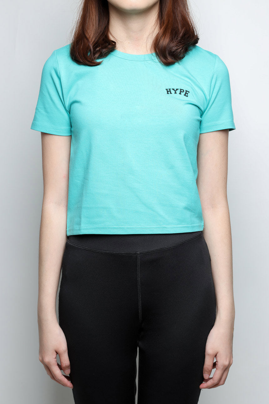 Signature Women Chief Crop Top | Light Green