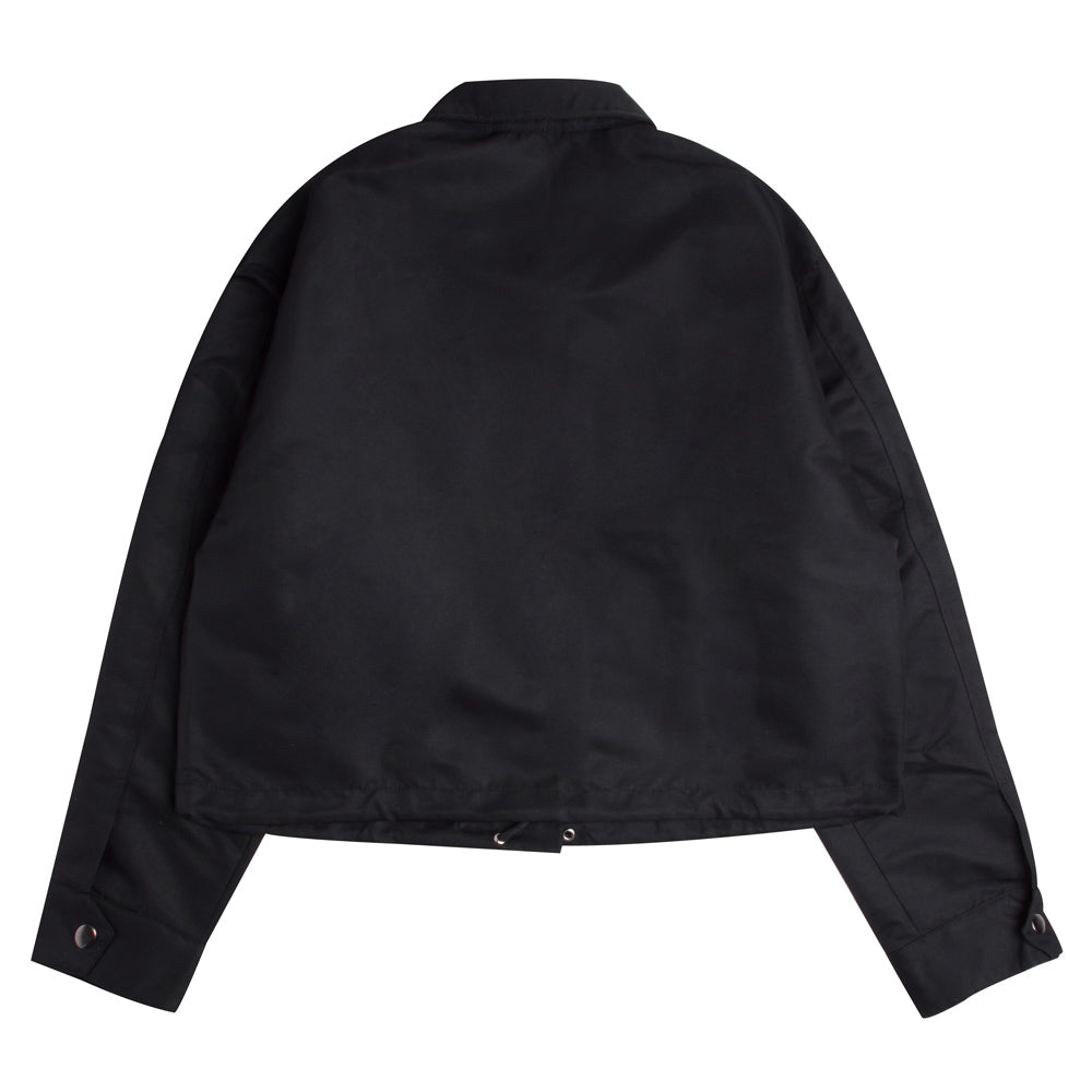 Signature Women Colonel Crop Coach Jacket | Black