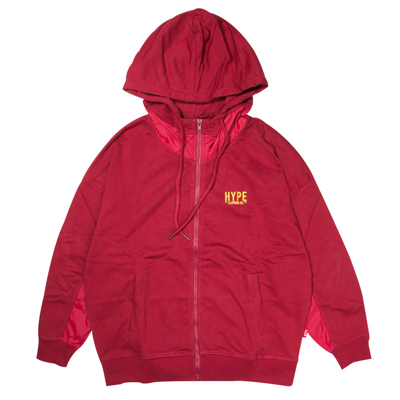 Signature Women Colonel Zip Hoodie | Maroon