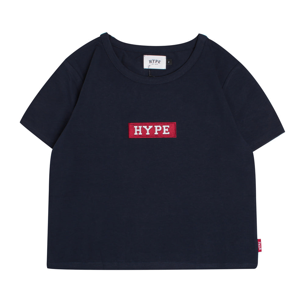 Signature Women Major Crop Top | Navy
