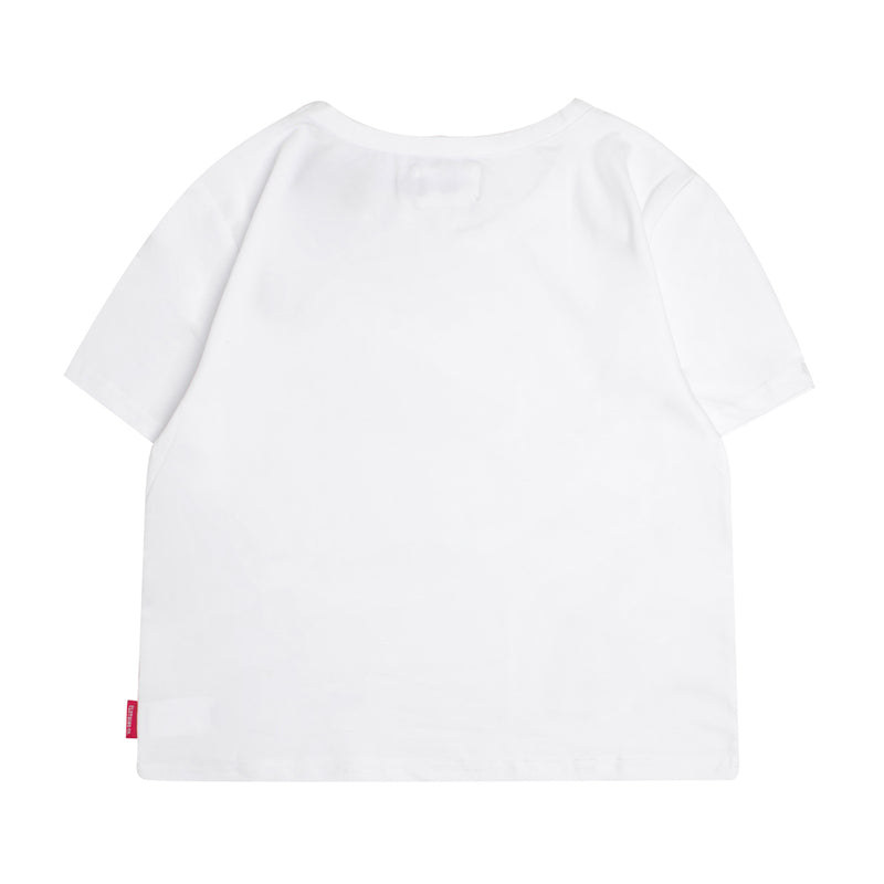 Signature Women Major Crop Top | White