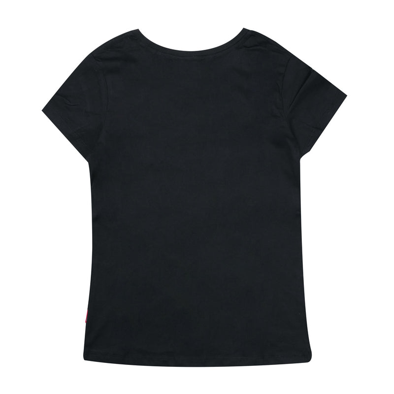 Signature Women Major Short Sleeve Tee | Black