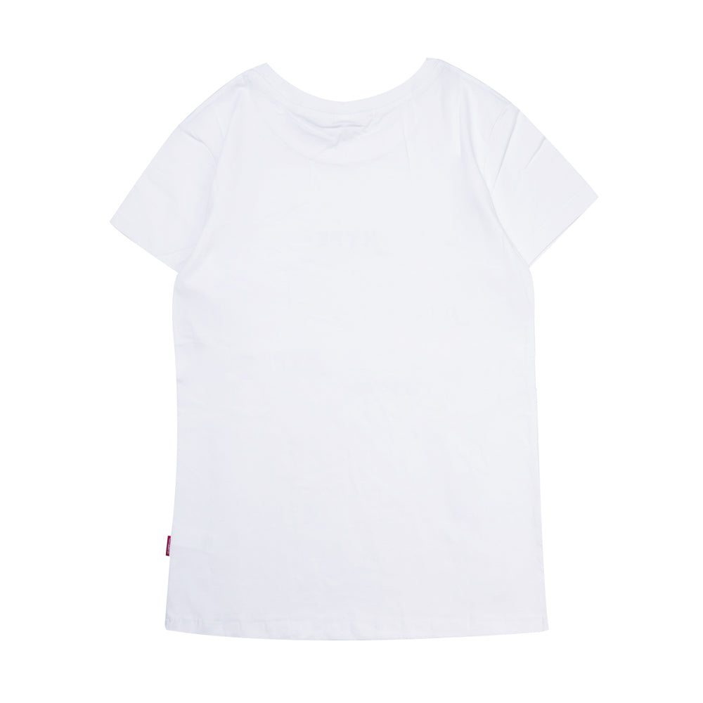 Signature Women Major Short Sleeve Tee | White