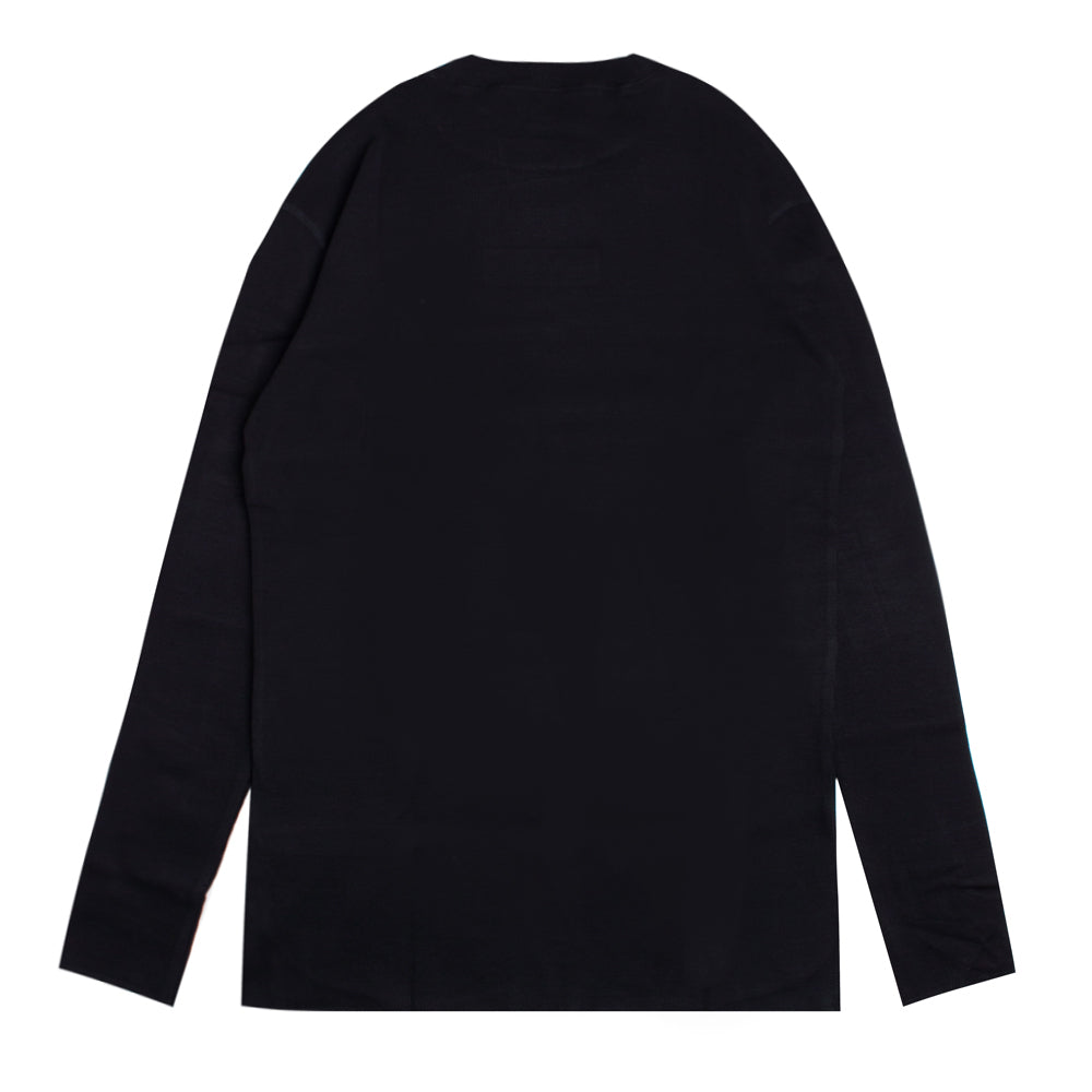 Signature Women Major Turtle Neck Long Sleeve Tee | Black