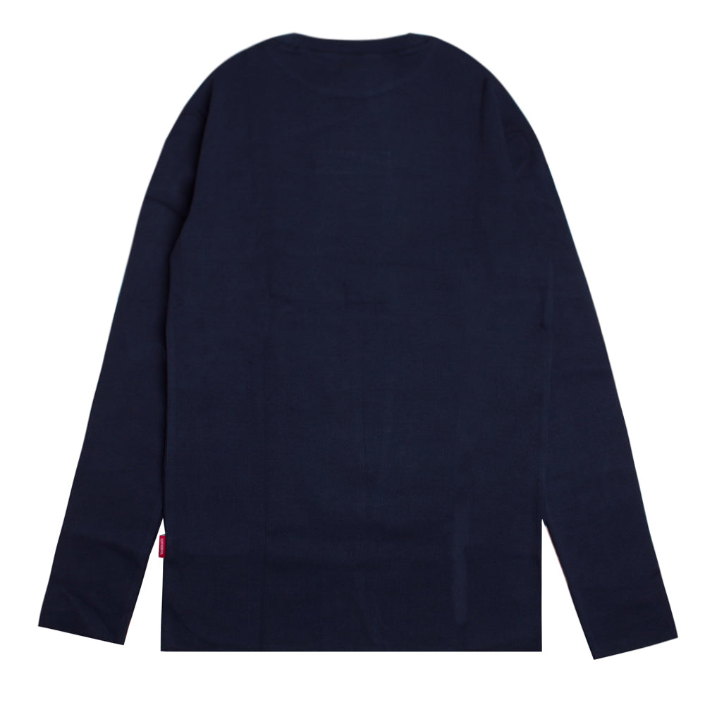 Signature Women Major Turtle Neck Long Sleeve Tee | Navy