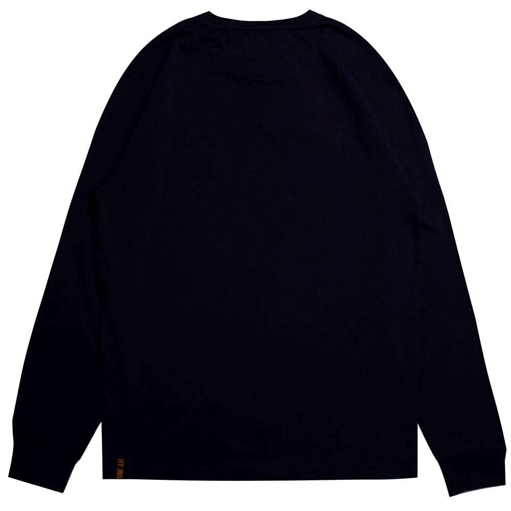 Capsule Squadron Long Sleeve Tee | Black