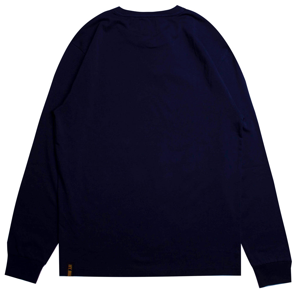 Capsule Squadron Long Sleeve Tee | Navy