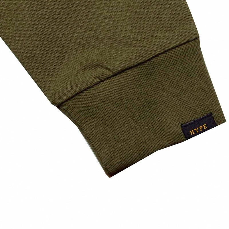 Capsule Squadron Long Sleeve Tee | Olive