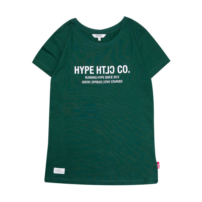 Seasonal Women Ryker Body Fit Tee | Green