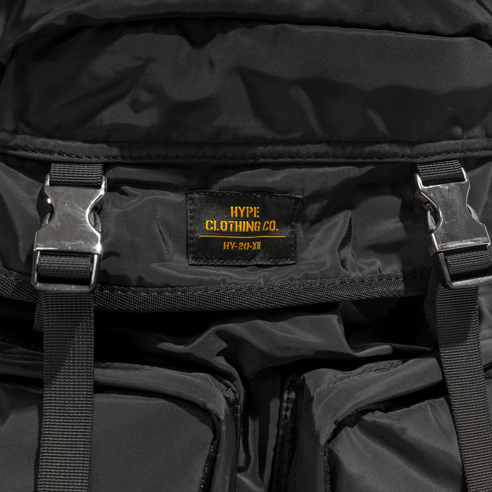 Capsule Military Casper Backpack | Black