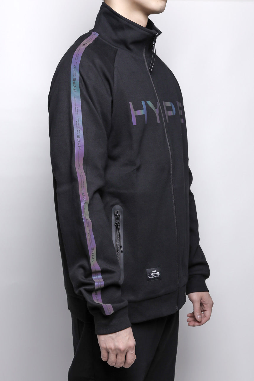 Fade To Black Spectrum Track Jacket | Black