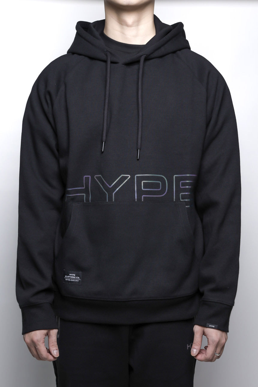 Fade To Black Spectrum Pullover Hoodie | Black