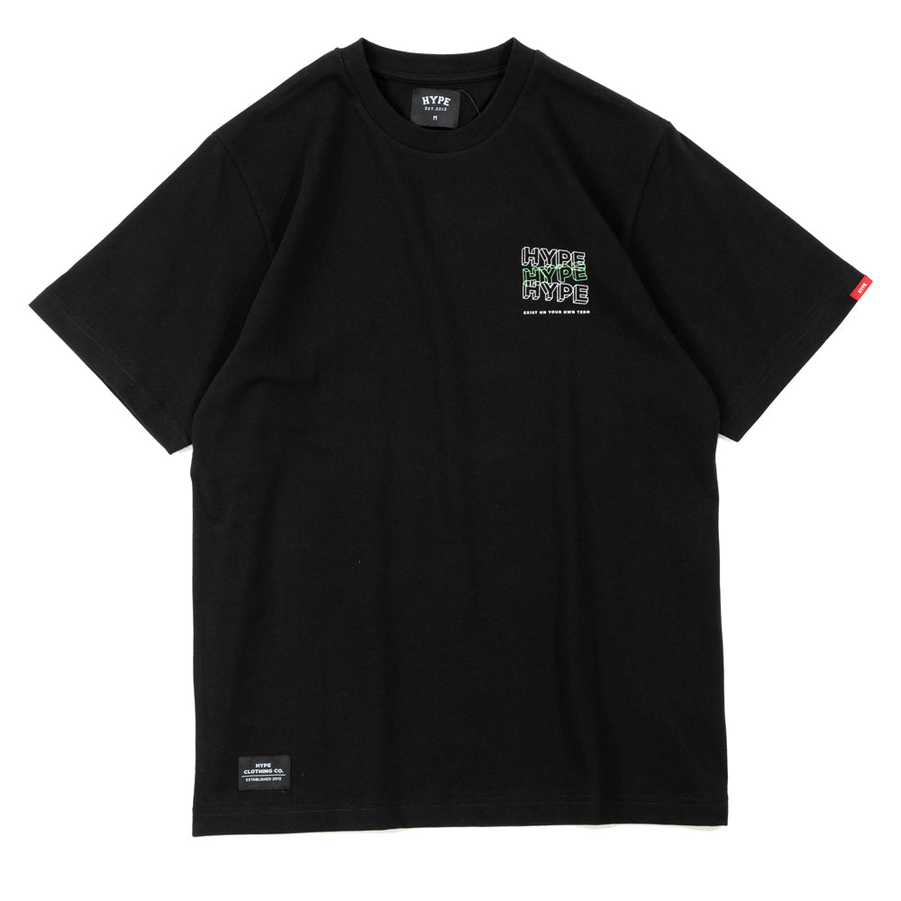 Seasonal Glow In The Dark 01 Tee | Black