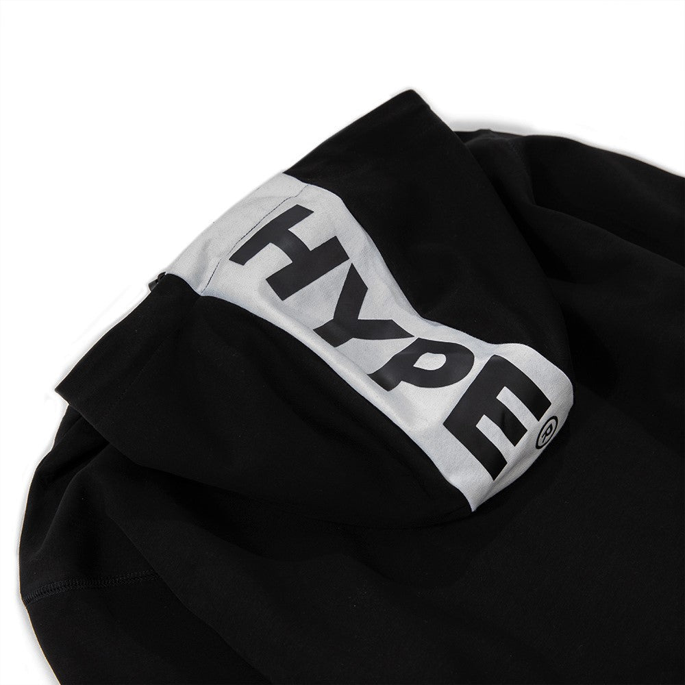 Capsule Technical Zip Hoodies | Black