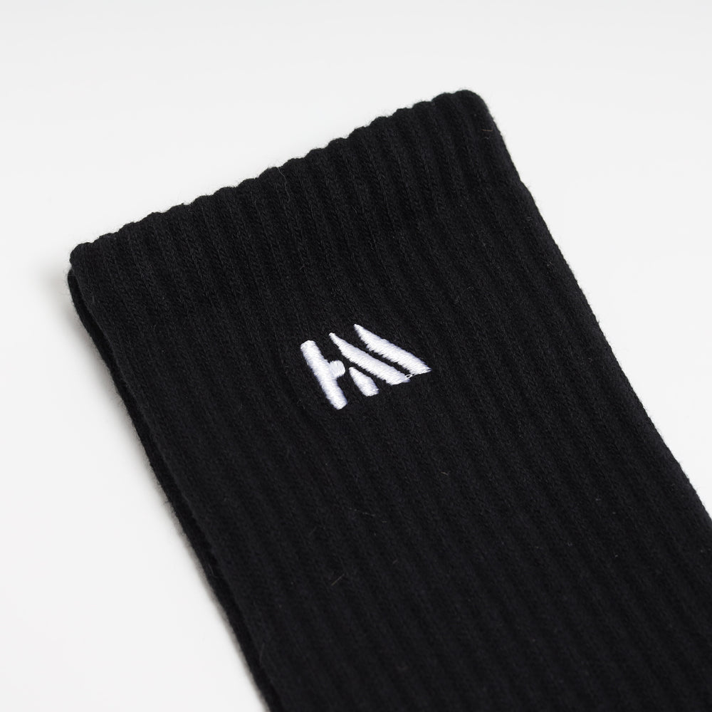 Seasonal Military Long Socks | Black