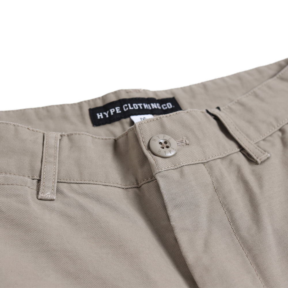 Signature Square Label Chino Shorts | Khakis