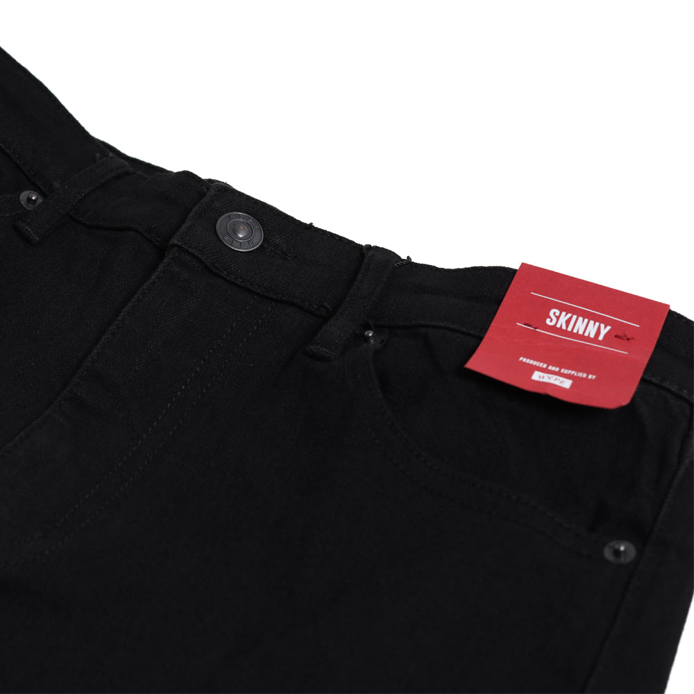 Seasonal Mens Skinny Jeans | Black
