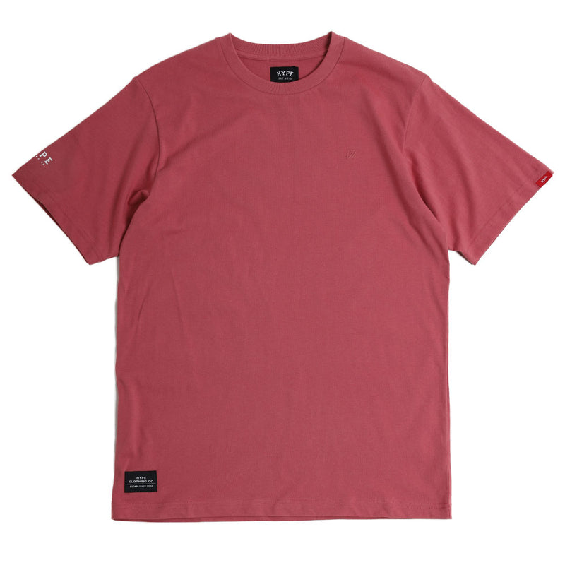 Basic H Logo Tee | Dusty Pink