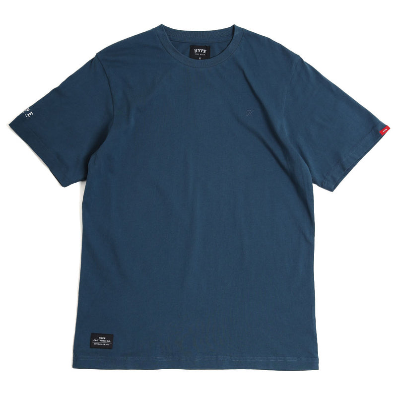 Basic H Logo Tee | Navy