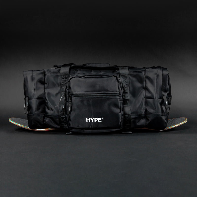 Capsule Technical Multi function Duffel Bag  | Black