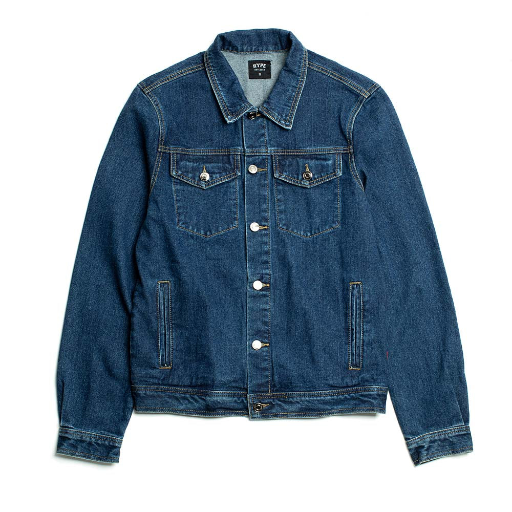Signature Captain Denim Jacket | Denim