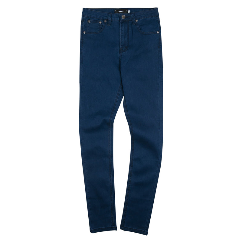 Ladies High Waist Skinny Jeans | Blue