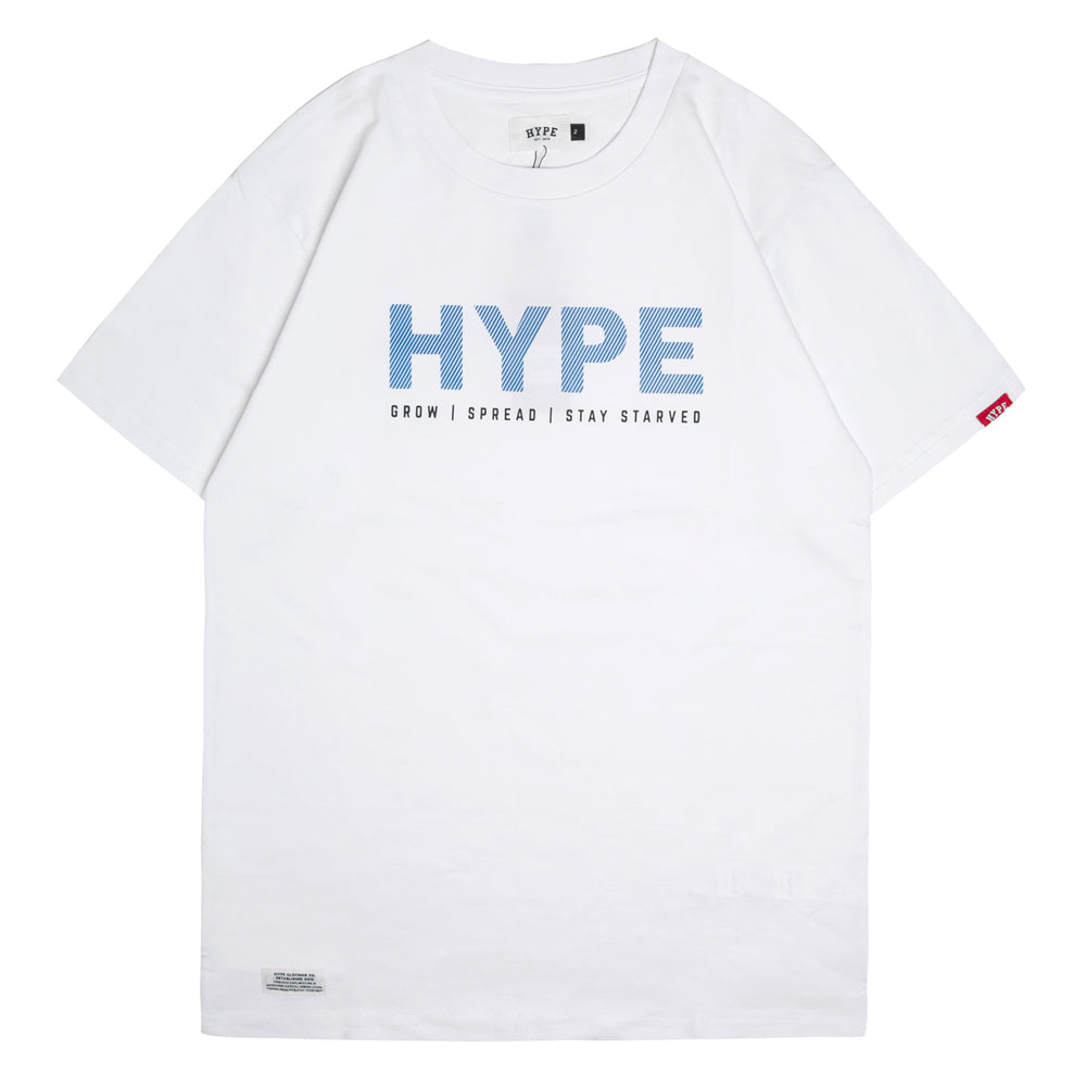 Seasonal Ridge Short Sleeve Tee | White