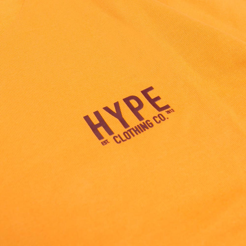 Signature Colonel Short Sleeve Tee | Mustard