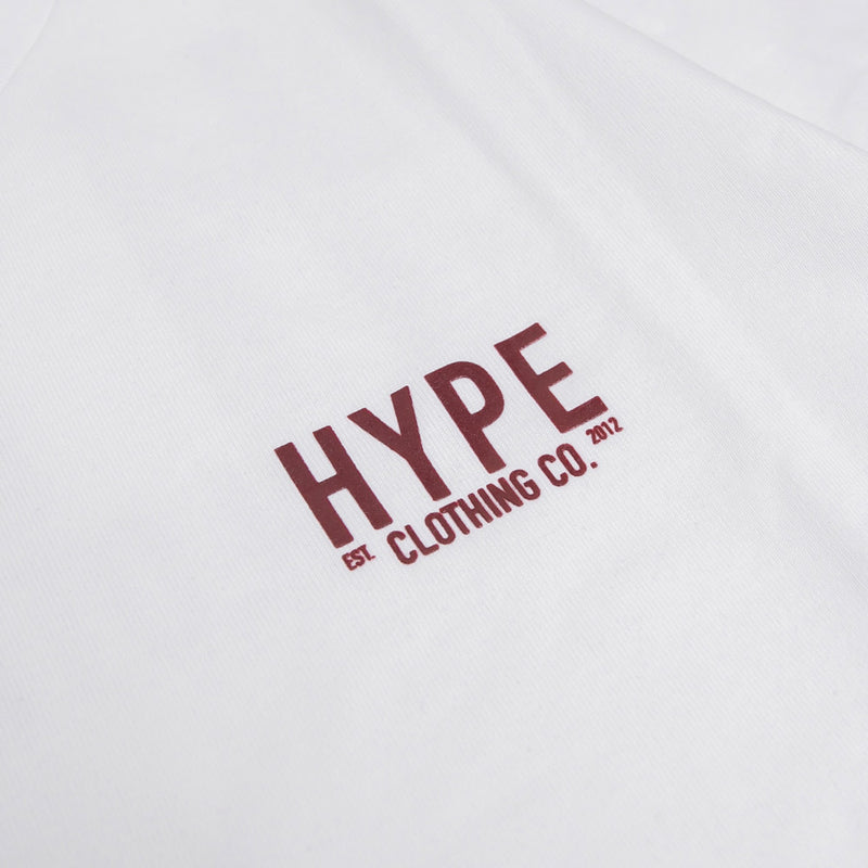 Signature Colonel Short Sleeve Tee | White