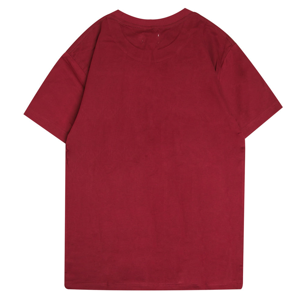 Signature Major Short Sleeve Tee | Maroon