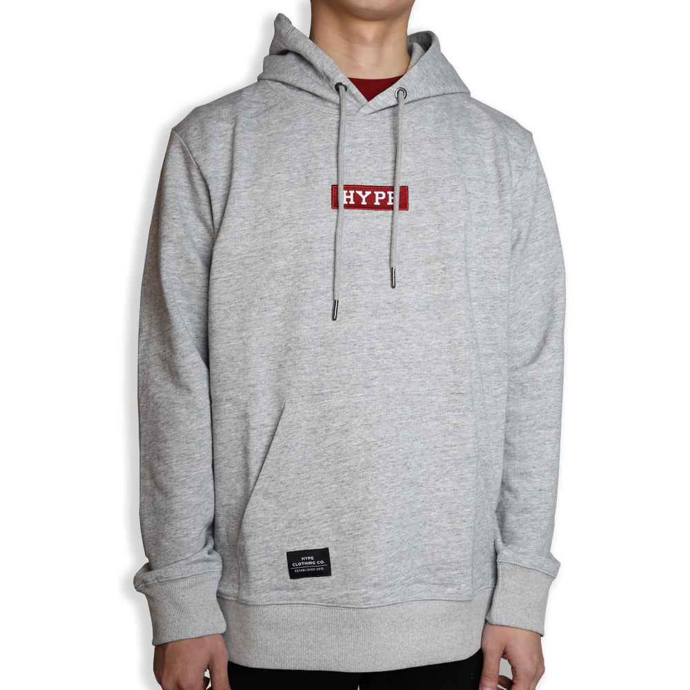 Signature Major Pullover Hoodie | Light Heather Grey