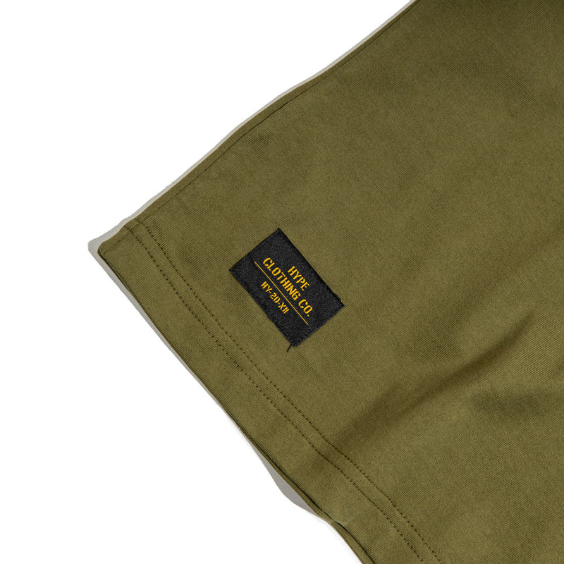 Capsule Military Delta Tee | Olive