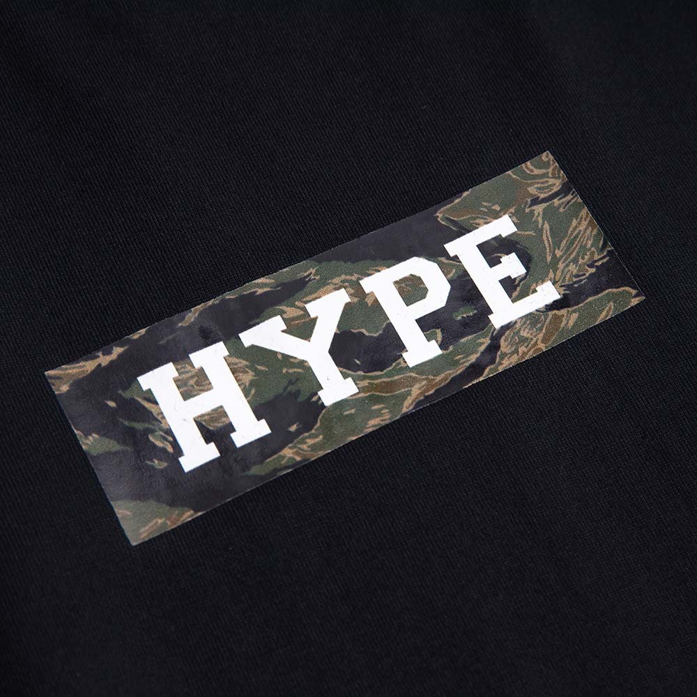 Seasonal Camo Major Box Tee | Black