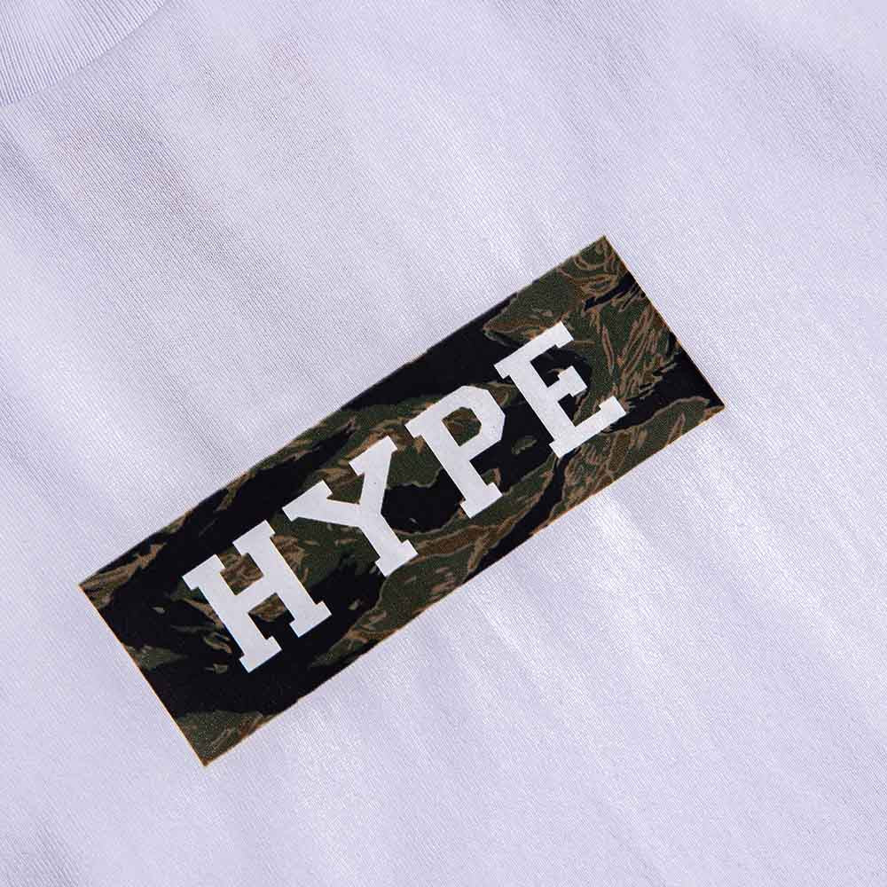 Seasonal Camo Major Box Tee | White