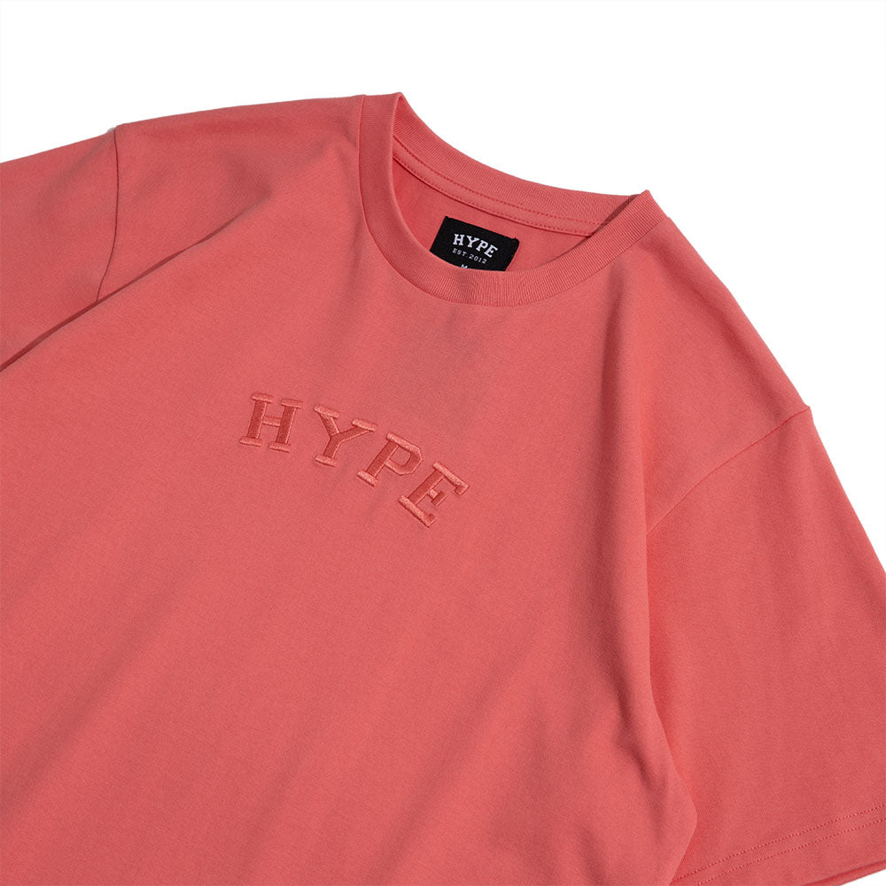 Signature Captain Short Sleeve Tee | Coral