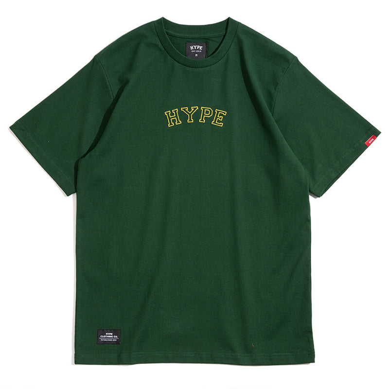 Signature Captain Short Sleeve Tee | Green / Gold