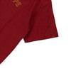 Signature Captain Short Sleeve Tee | Heather Red/ Gold