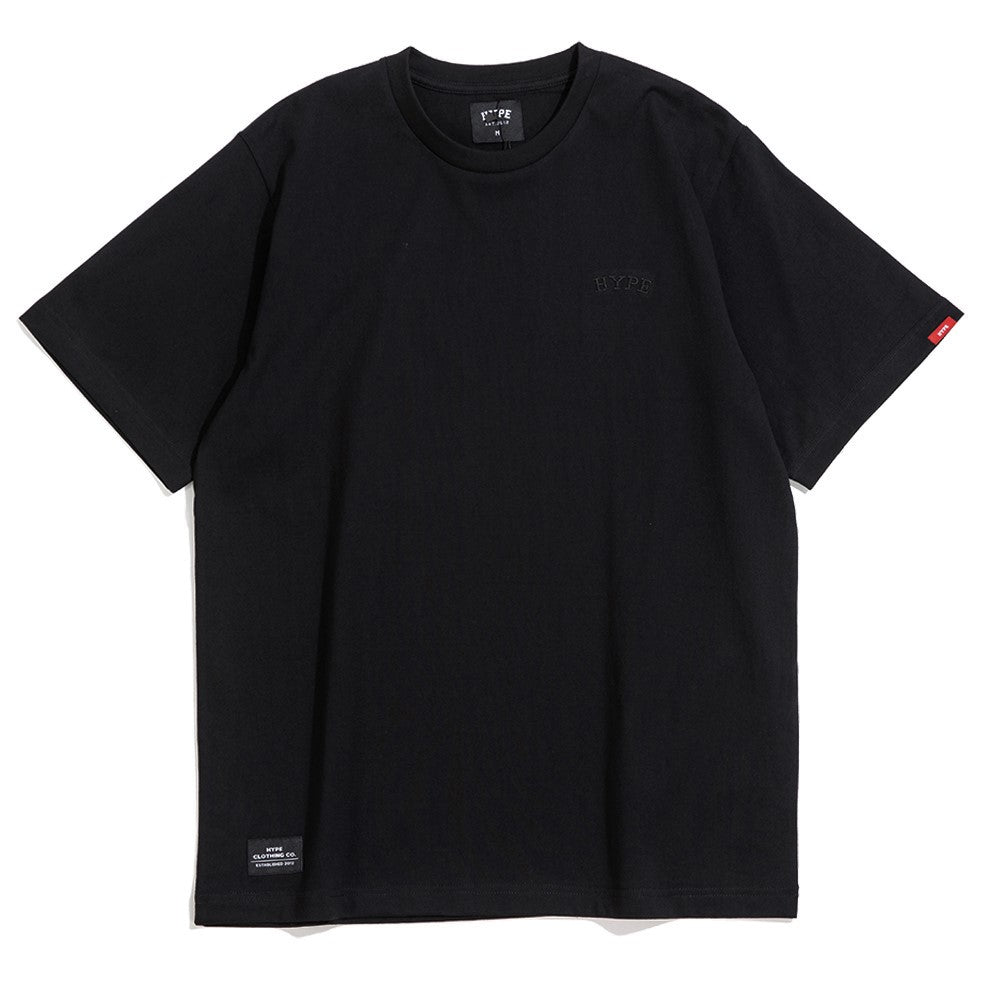Signature Chief Short Sleeve Tee | Black/ Black