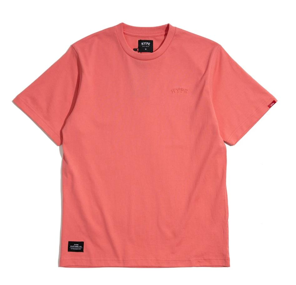 Signature Chief Short Sleeve Tee | Coral