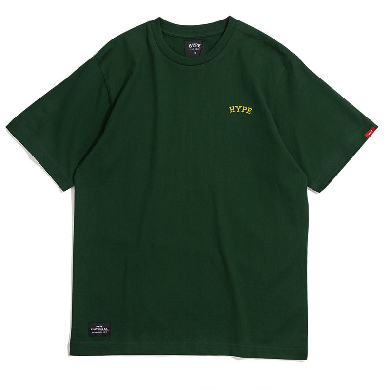 Signature Chief Short Sleeve Tee | Green / Gold