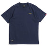 Signature Chief Short Sleeve Tee | Heather Navy/ Gold