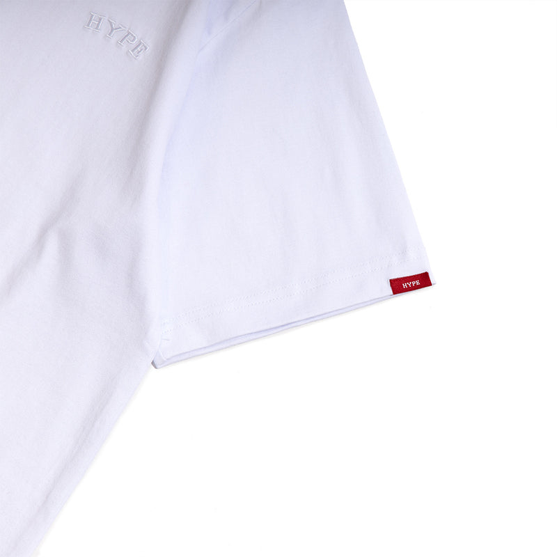 Signature Chief Short Sleeve Tee | White/ White