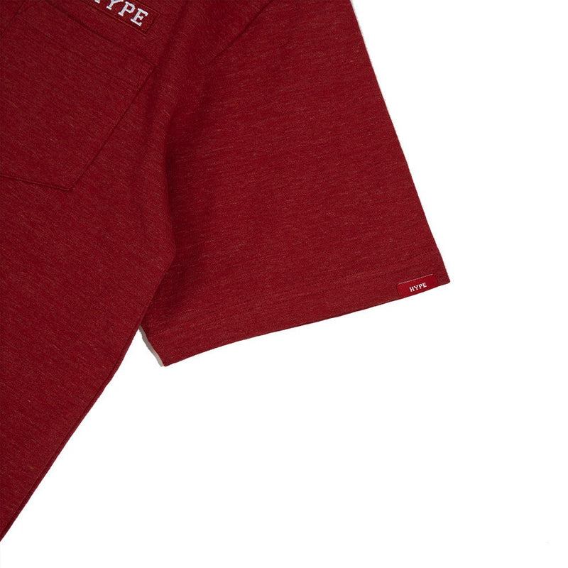 Signature Major Pocket Tee | Heather Red