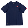 Signature Major Pocket Tee | Heather Navy