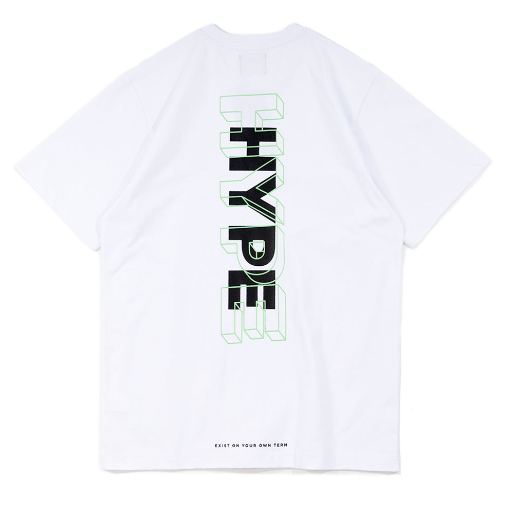 Seasonal Glow In The Dark 01 Tee | White