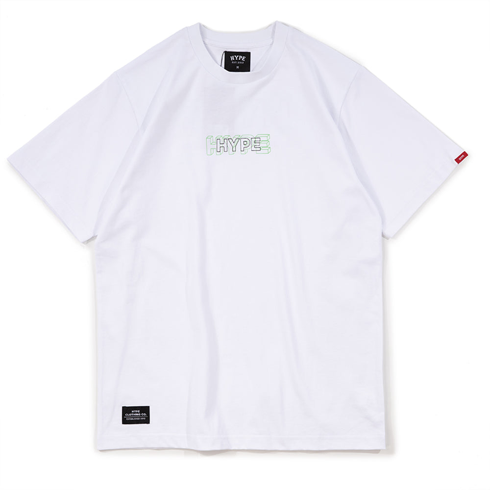 Seasonal Glow In The Dark 02 Tee | White